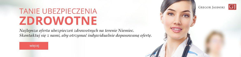 Tanie ubezpieczenia w Niemczech. Grzegorz Jasinski.